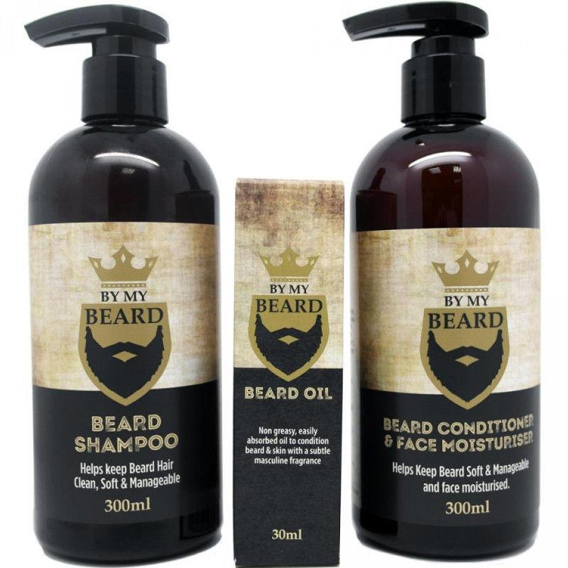 By my beard By My Beard Zestaw do brody szampon, odżywka i olejek 11911