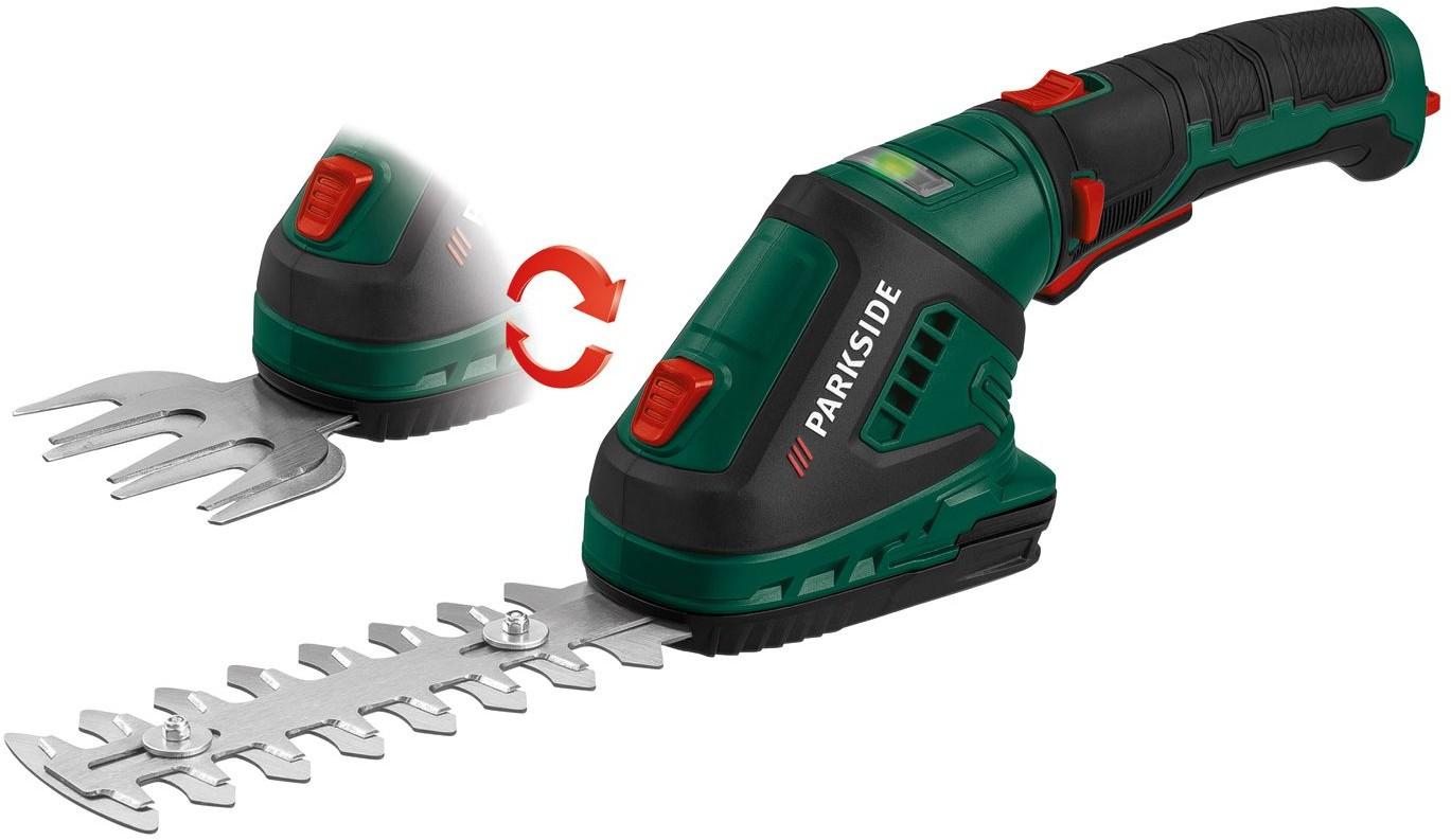 PARKSIDE PARKSIDE Akumulatorowe nożyce do trawy i krzewów 4056233070675