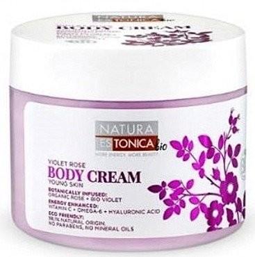 Eurobio Lab Natura Estonica Body Cream Odmładzający krem do ciała Violet Rose 300ml 1234585513