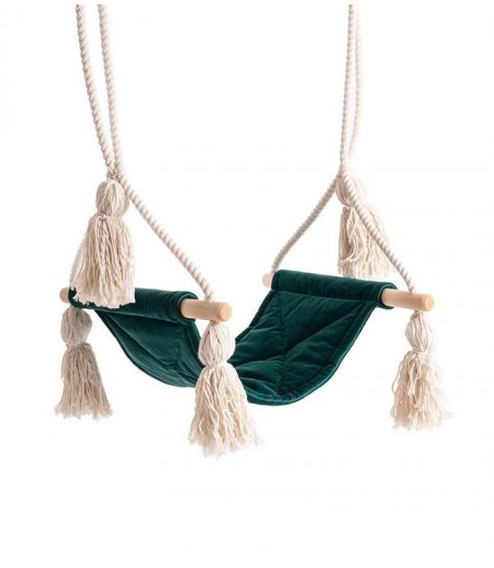 Swing Velvet Boho Forest