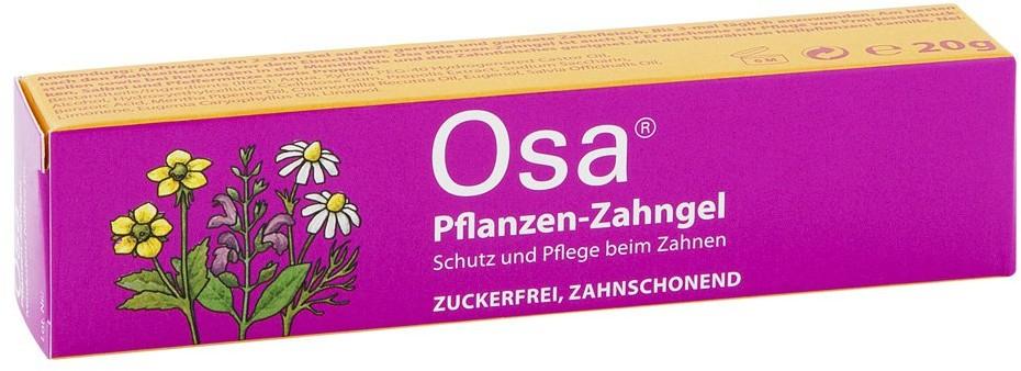 Queisser Pharma GmbH & Co. KG Osa roślinny żel do zębów 20 g