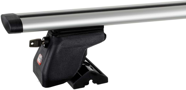 Amos Bagażnik bazowy na dach belki aluminiowe 1.4 Dynamic łapy Dromader C15 ZABEZPIECZENIE 1416-uniw