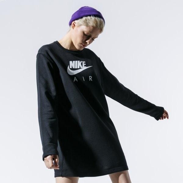 Nike BLUZA W NSW AIR CREW DRESS BB FLC BV5134-010
