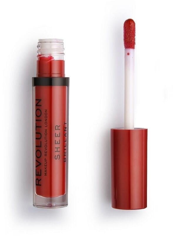 Revolution MAKE UP Makeup Ruby 134 Pomadka do ust w płynie Sheer Brillant 1szt SO_111456