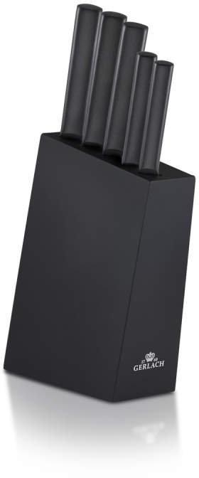 Gerlach Zestaw noży w bloku AMBIENTE BLACK 984 AMBIENTE BLACK