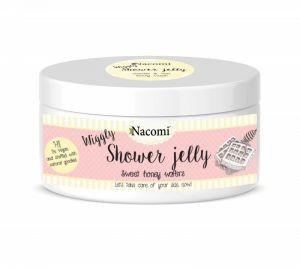 Nacomi Shower Jelly galaretka do mycia ciała Miodowe Gofry 100g