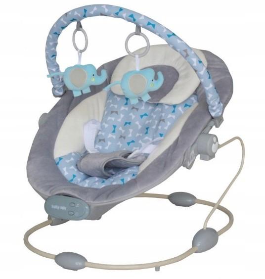 Baby Mix Leżaczek z muzyką i wibracjami