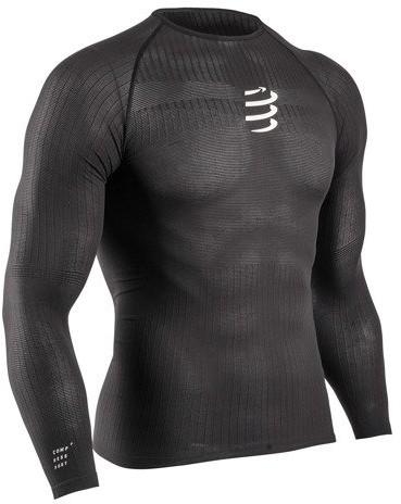 CompresSport koszulka termiczna 3D THERMO 50G LS TSHIRT czarna