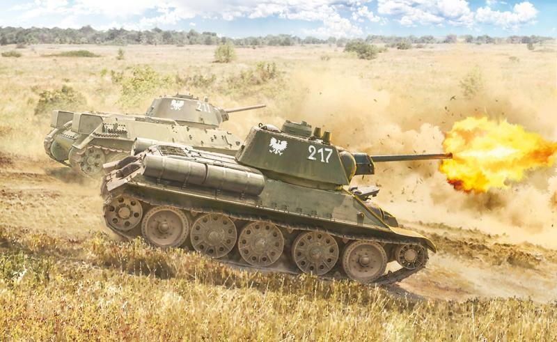 Italeri Czołg T-34/76 Model 1943 7078