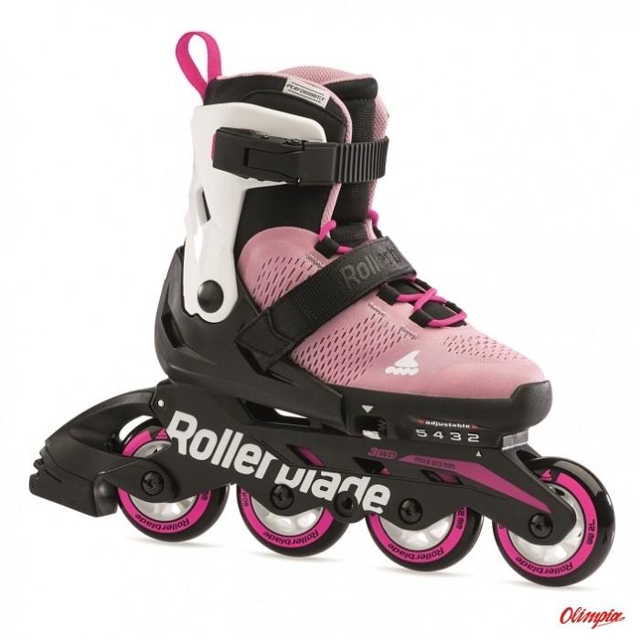 Rollerblade Rolki Microblade G 2021 pink/white 07101900 T93