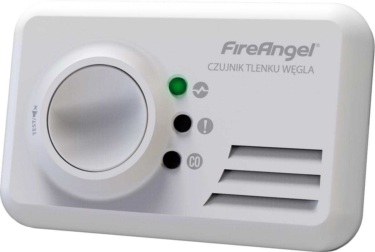FireAngel Czadu bateria litowa wbudowana 10 lat gwarancji