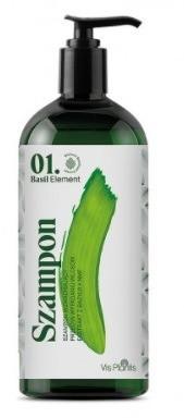 Vis Plantis Basil Element Szampon wzmacniający przeciw wypadaniu włosów 500ml 34074-uniw