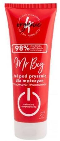 4organic Naturalny żel pod prysznic Mr Big 250 ml