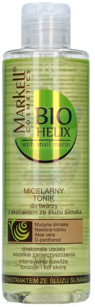 Bio Markell Helix Micelarny tonik do twarzy z ekstraktem ze śluzu ślimaka 200 ml