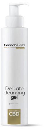CannabiGold Delicate Cleansing Gel - Wszystkie rodzaje skóry 200ml
