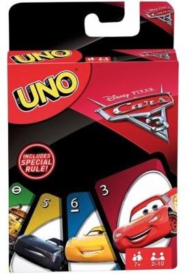 Mattel GA UNO Auta 3 FDJ15