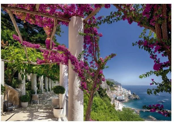 Fototapeta Amalfi 368 x 254 cm