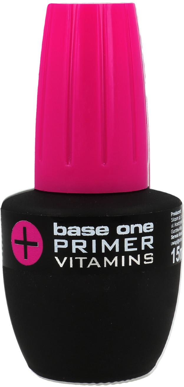 Silcare Silcare Base One Primer Vitamins Preparat Poprawiający Przyczepność Do Płytki Paznokcia Z Witaminami 15ml