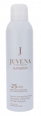 Juvena Sunsation Superior Anti-Age Dry Oil Spray SPF25 preparat do opalania ciała 200 ml dla kobiet