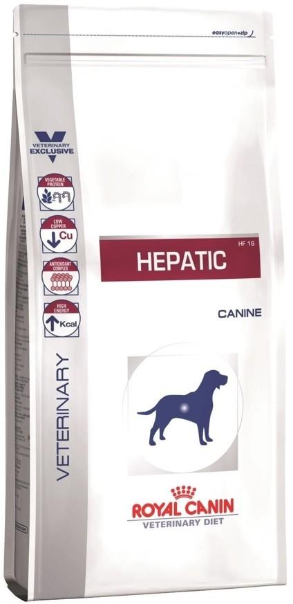 Royal Canin Veterinary Diet Canine Hepatic HF16 1,5 kg