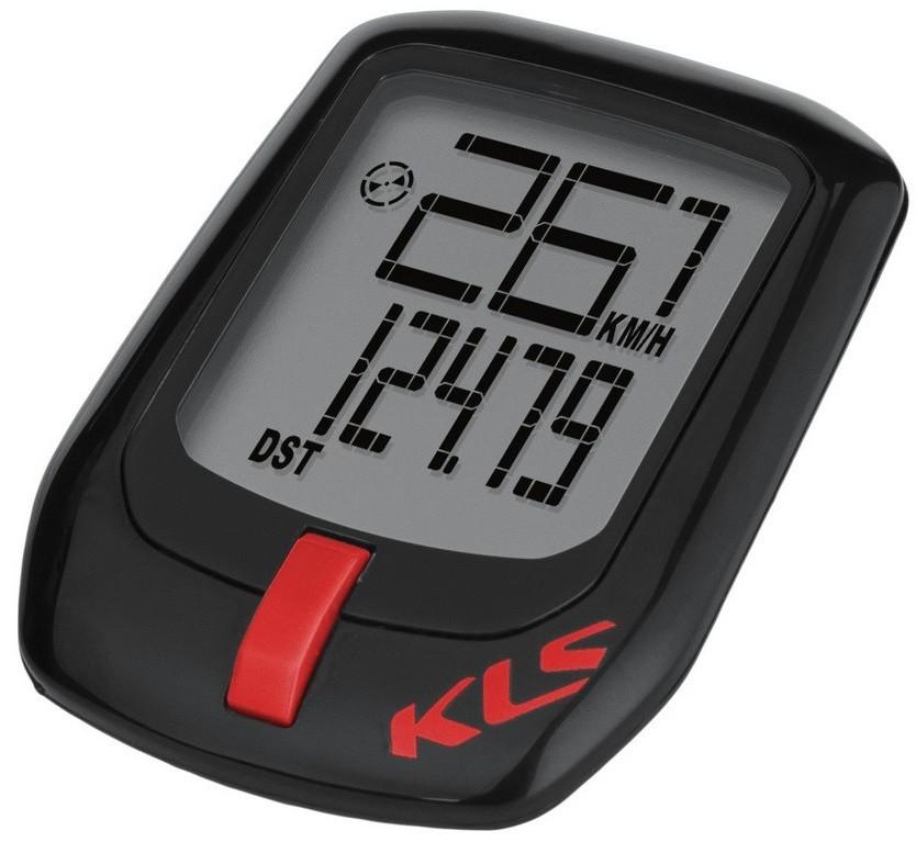 Kellys Licznik bezprzewodowy DIRECT czarno-czerwony 9-funkcyjny L0730