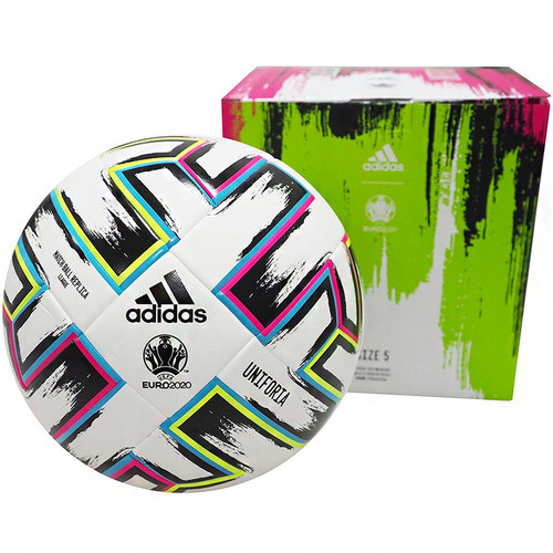 Adidas Piłka nożna Uniforia Euro 2020 Match Ball Replica FH7376 Box