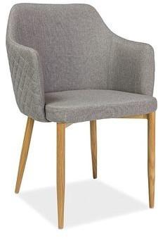 Signal Krzesło metalowe ASTOR szary (ASTORSZ)