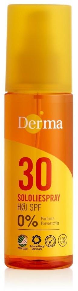Derma Derma Sun Olejek słoneczny SPF 30 - 150 ml