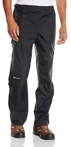 Berghaus Paclite męskie spodnie przeciwdeszczowe, czarny, l 4-32373B50