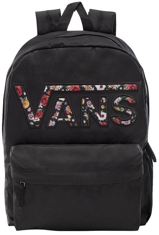 Vans Plecak do szkoły Realm Flying - black mixed flower VN0A3UI8YGL