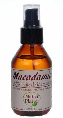 Natur Planet 100% olej makadamia - Natur Planet Macadamia Oil 100%