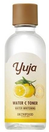 SKINFOOD SKINFOOD Yuja water C toner Rozświetlająco-nawilżający tonik do twarzy 180ml 51228-uniw