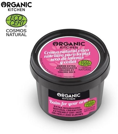 Organic Kitchen Kitchen Ekstra odżywczy naturalny krem do wyjątkowo suchej skóry na piętach i łokciach 100ml