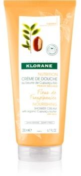 Klorane Cupuaçu Fleur de Frangipanier intensywnie nawilżający krem pod prysznic 200 ml