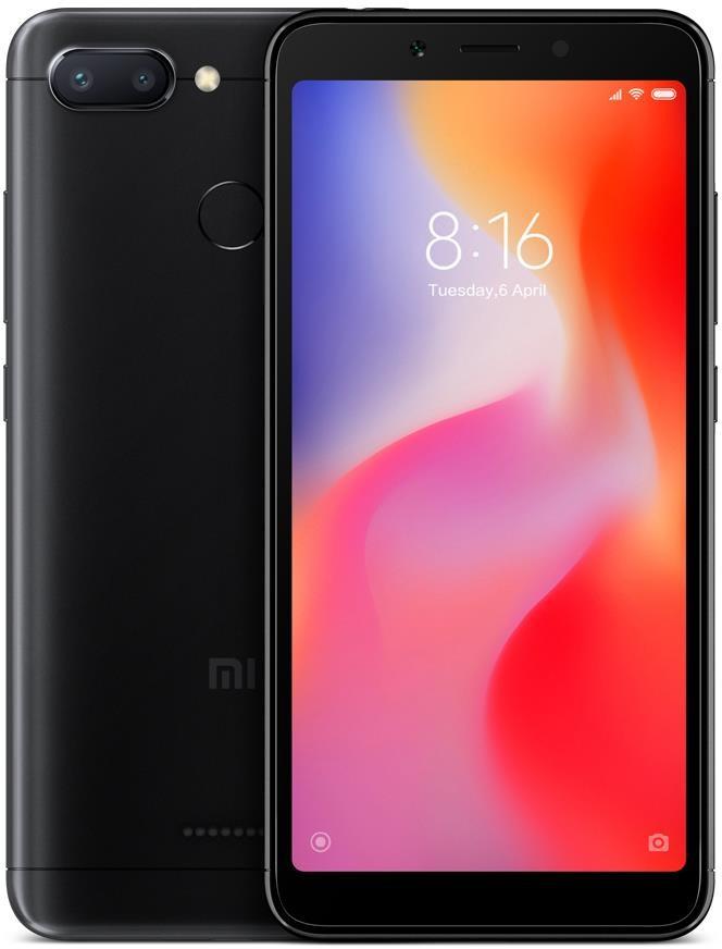 Xiaomi Redmi 6 32GB Dual Sim Czarny
