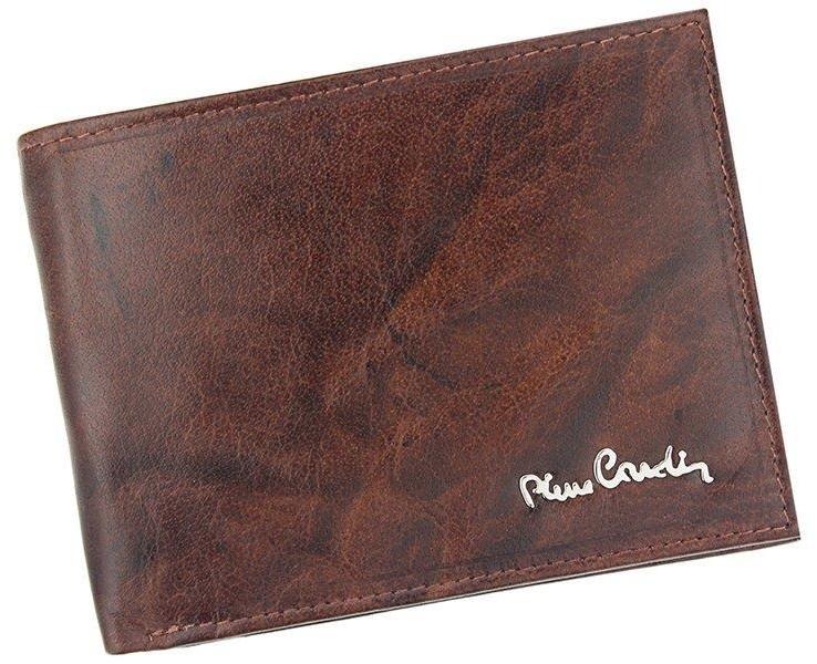 Pierre Cardin Portfel skórzany męski FOSSIL TILAK12 8805 RFID Brązowy - brązowy FOSSIL TILAK12 8805 RFID brązowy-0