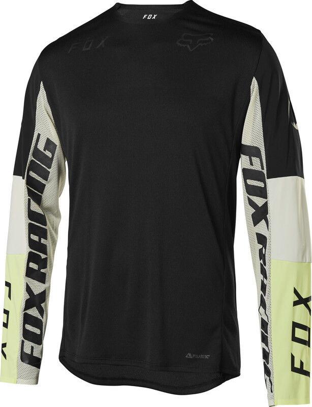 Fox Flexair Delta Honr Koszulka rowerowa z długim rękawem Mężczyźni, black M 2020 Koszulki MTB i Downhill 25119-001-M