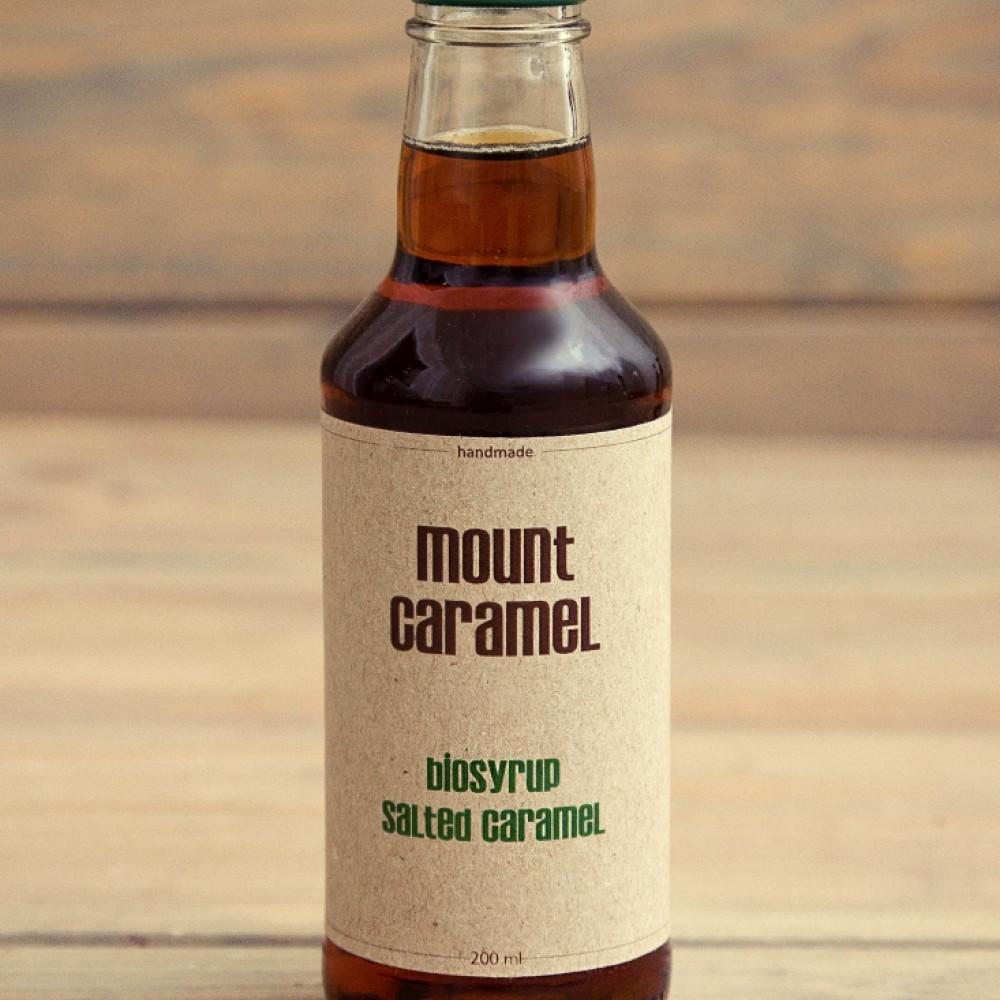 Mount Caramel BIO syrop solony karmel 200 ml