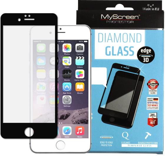 Etuo.pl MyScreen Protector - Apple iPhone 6 Plus - szkło hartowane MyScreen Protector FullScreen Glass - czarne FOAP139FSGLBLK000