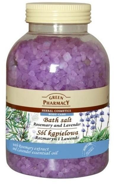 Green Pharmacy Sól kąpielowa Rozmaryn&Lawenda 1300g GP16-0155