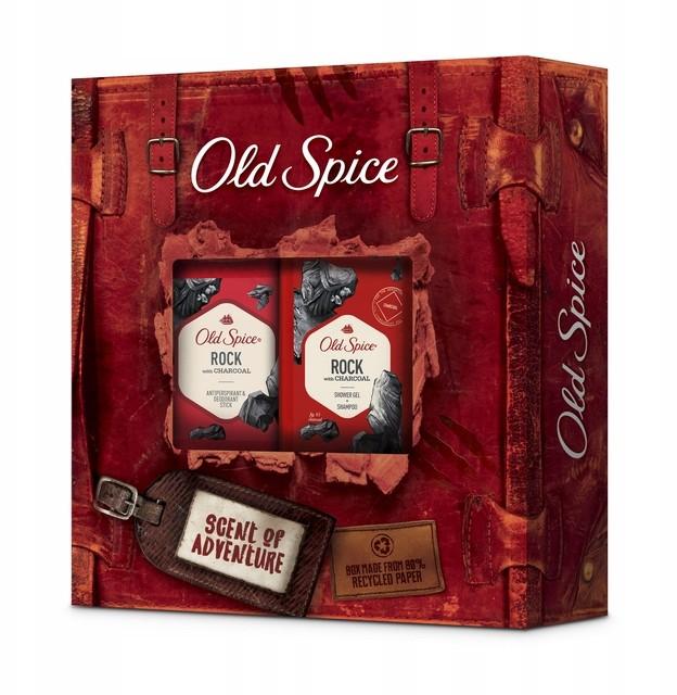 Old Spice Rock zestaw kosmetyków Żel/Sztyft