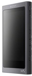 Sony NW-A45High Resolution WALKMAN MP3player (16GB, ekran dotykowy, wzmacniacza cyfrowego, Bluetooth, NFC, Hi-Res, do 45godzin pracy na baterii) czarna NWA45B.CEW