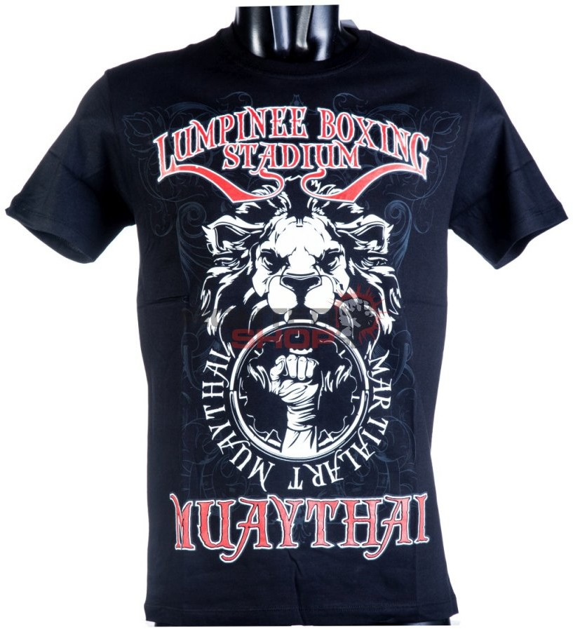 Born to be Muay Thai T-shirt męski LUMPINEE STADIUM Born to be Muay Thai