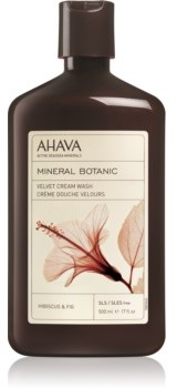 Ahava Mineral Botanic Hibiscus & Fig aksamitny krem pod prysznic hibiskus i figa 500 ml