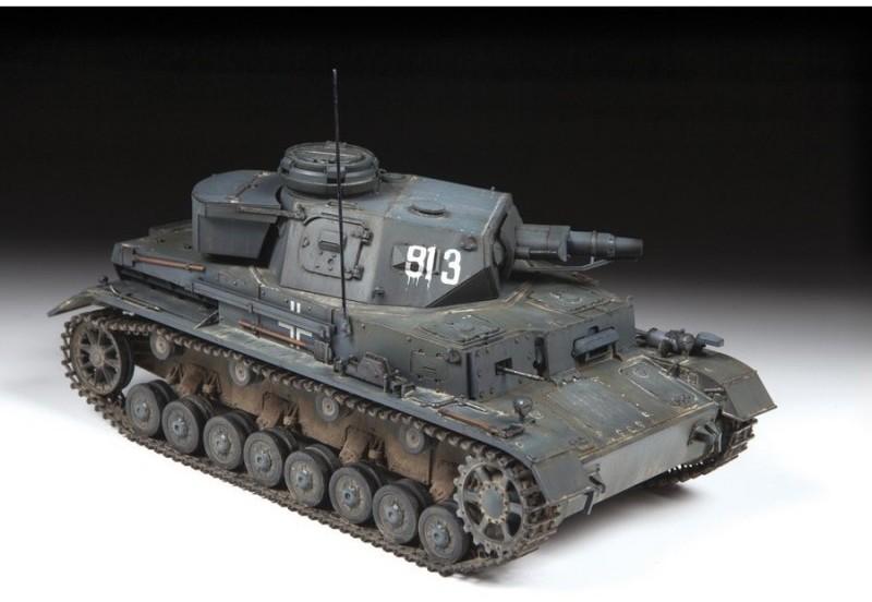 Zvezda Panzer IV Ausf.E Sd.Kfz.161 niemiecki czołg średni WWII LETNIA WYPRZEDAŻ DO 80%
