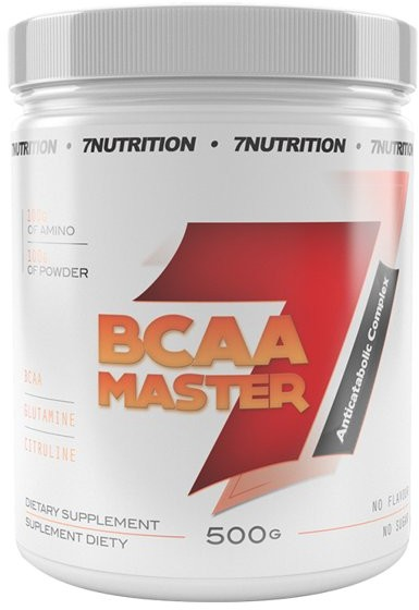 7Nutrition BCAA Master, 500 g, cola-limonka