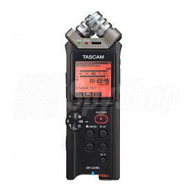 Tascam Profesjonalny, kieszonkowy dyktafon Tascam DR-22WL z WiFi