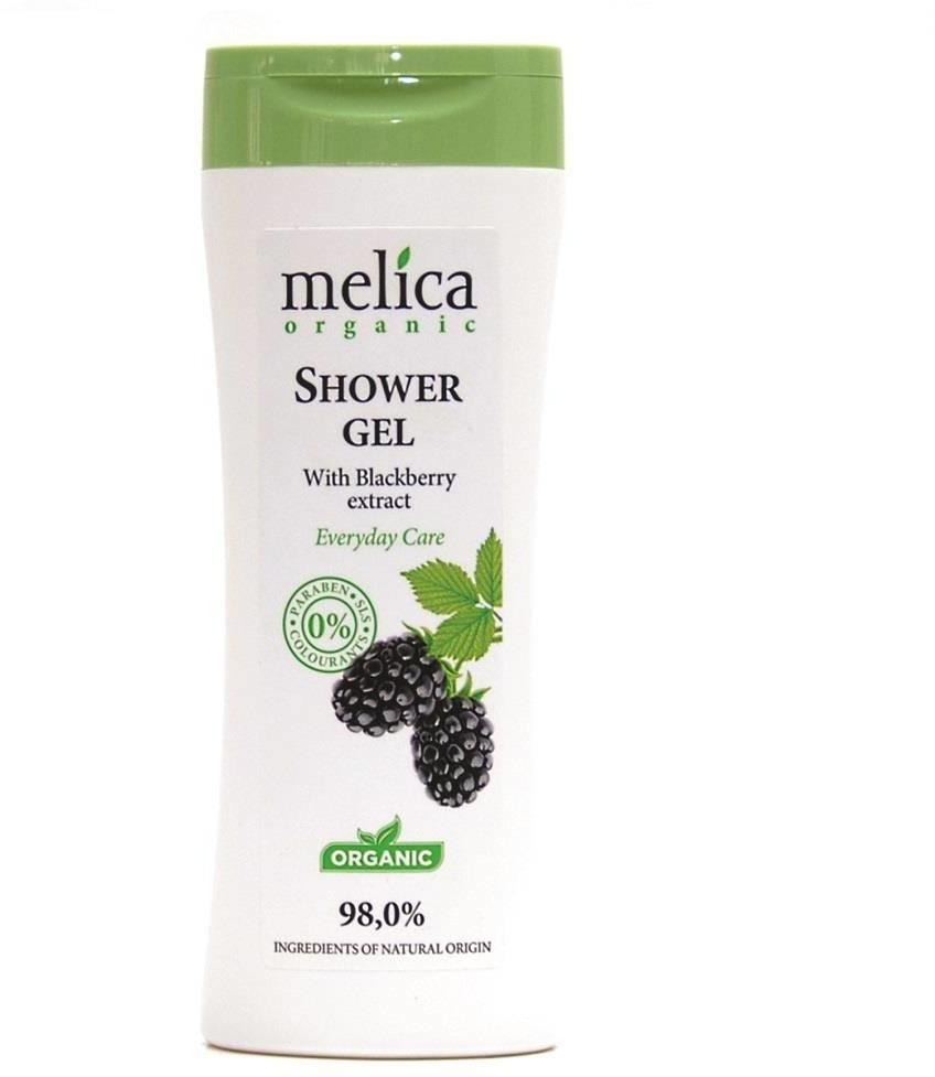 Organic Melica Shower Gel żel pod prysznic z ekstraktem z jeżyny 250ml 97499-uniw
