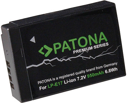 Newell Zestaw Patona 2x akumulator LP-E17 + ładowarka podwójna Dual USB Charger + PowerBank 5200mAH