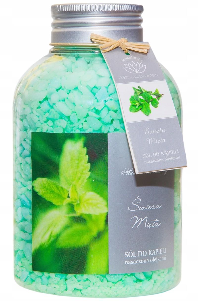 Natural Aromas Sól do kąpieli Świeża Mięta 670g